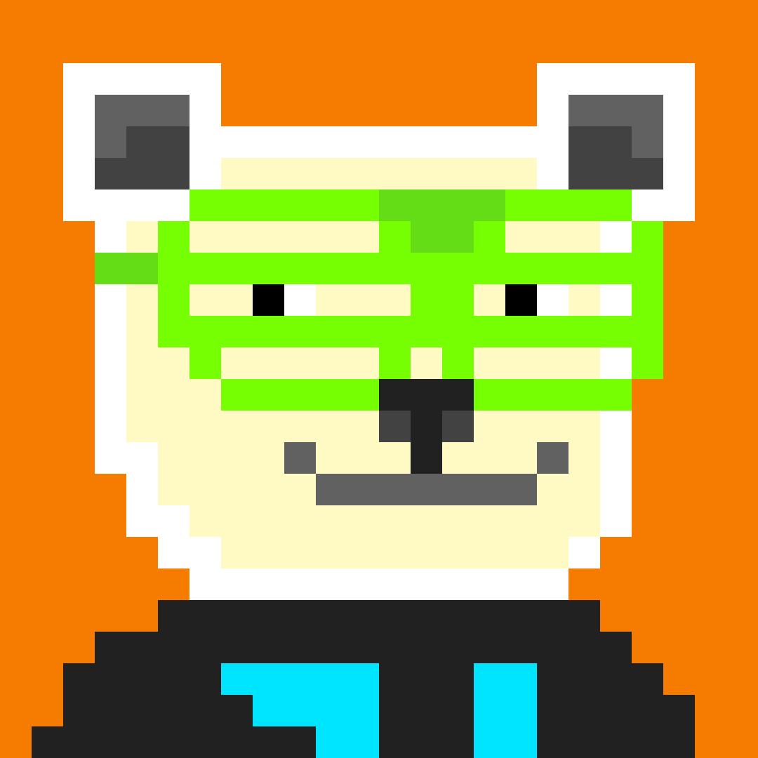 #045 Extrovert Polar Bear