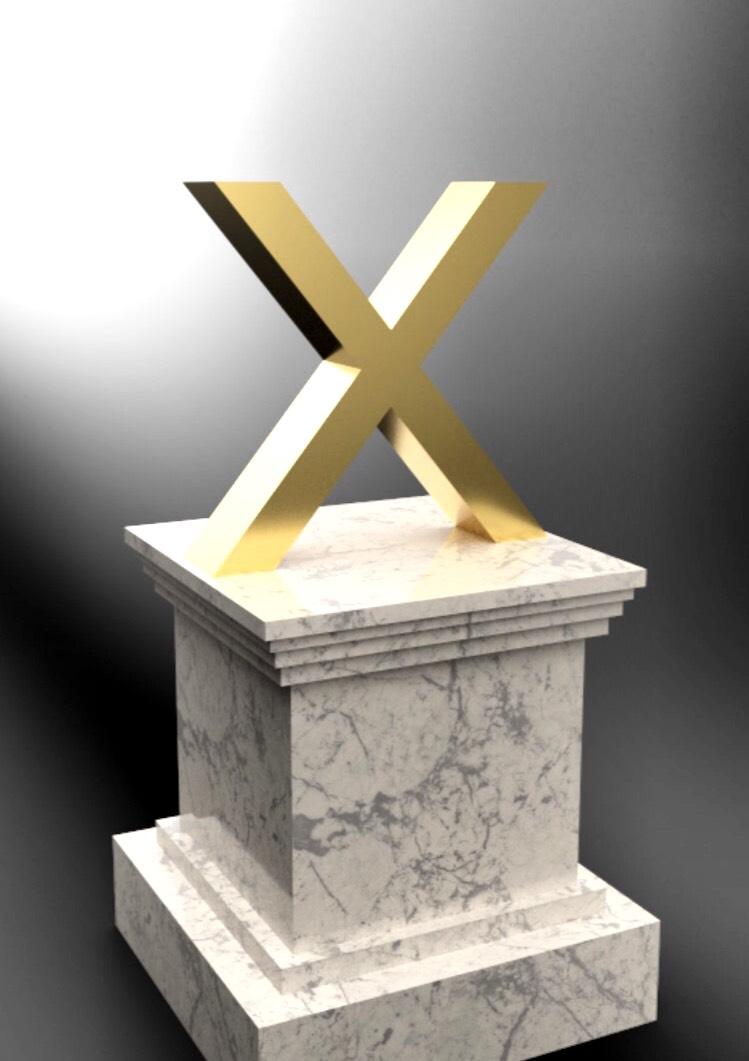 X-Node-Statue